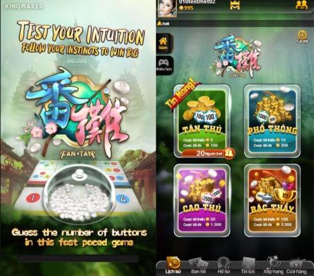 Các game bài tại Ae888